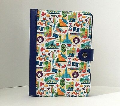 NEW Disney Parks Attraction Icons E-Reader Case (Kindle/iPad Mini)