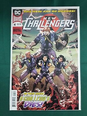 New Challengers #4 (Of 6) Dc Comics Near Mint 8/15/18