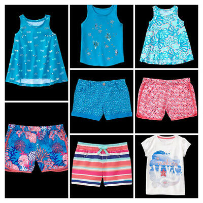 NEW Gymboree girls summer MERMAID COVE tee shorts size 4 5 6 7 8 YOU PICK