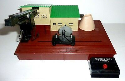 AMERICAN FLYER 23796 Remote-Control SAWMILL with CONTROLLER