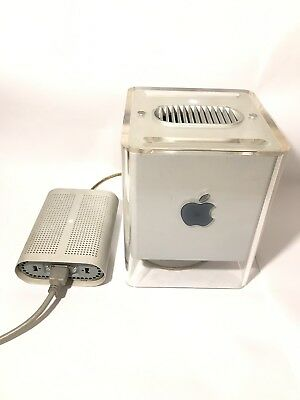 Apple Power Mac G4 Cube M7886 With Apple 205W Power Adapter
