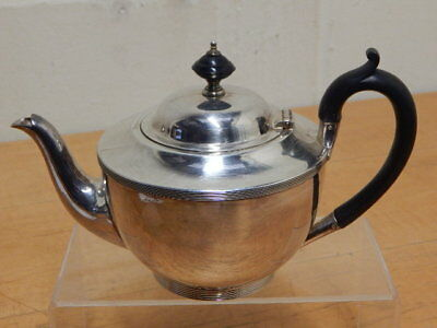 Antique Harrison Bros & Howson (HB&H) Silver Plate Teapot