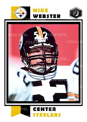 Aceo Mike Webster Pittsburgh Steelers Custom Hand Made Art Card