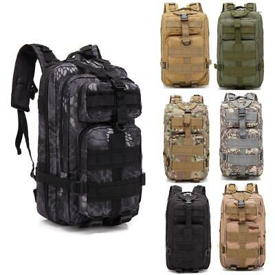 30L Outdoor Durable Military Tactical Assault Backpack Hiking Shoulders Pack Hot