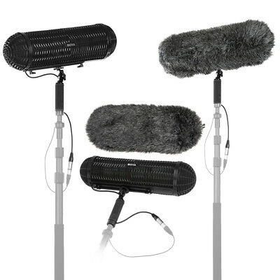 Boya BY-WS1000 Microphones Blimp Windshield Suspension System Mic For Camcorder