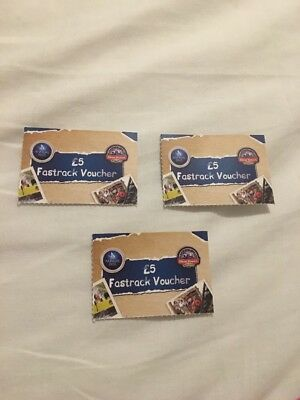 Merlin Annual Pass £5 Fastrack Vouchers Alton Towers
