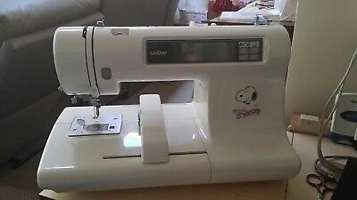 Brother Embroidery Sewing Machine PE-200 3 cards, 5 bobbin threads