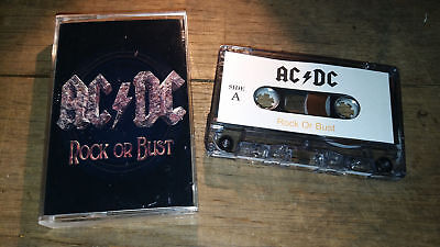 AC DC - Rock Or Bust cassette no vinyl CD