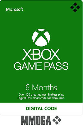 6 Months Xbox Game Pass Membership Key - 6 Months Xbox Subscription Code - CA
