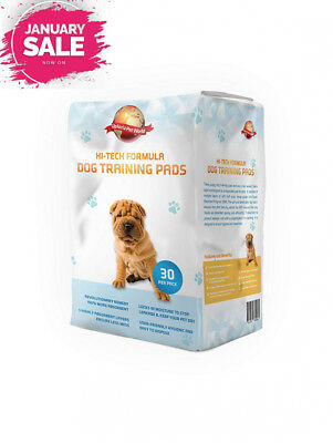 Puppy Training Pads 30-Pack 60cm x 60cm New Super Absorbent Size This Unique...