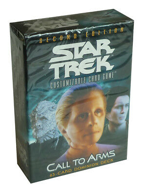 Star Trek - Call to Arms - Dominion Deck - Englisch Second Edition CCG Neu & OVP