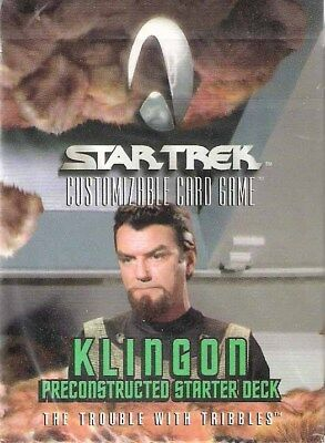 Star Trek Klingon Preconstructed Starter Deck The Trouble with Tribbles Englisch