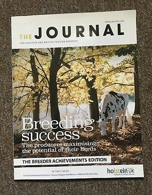 'The Journal For Holstein and Friesian Breeders' Cattle Farming Magazine DEC 17