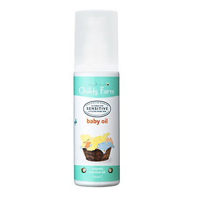 Childs Farm baby oil organic coconut 75ml