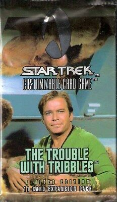 Star Trek - The Trouble with Tribbles Booster Limited Edition Englisch Neu & OVP