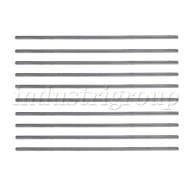 2mm x 100mm HSS Graving Tool Round Turning Lathe Carbide Bars Stick Set of 10