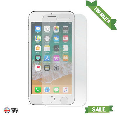 New 100% Genuine Tempered Glass Film Screen Protector For Apple iPhone 8 UK