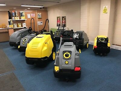 Karcher Hds Hot Water Pressure Washer Steam Cleaner Used New Service/repair