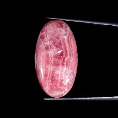 23.40Cts 100% Natural Rhodochrosite Oval Cabochon Loose Gemstone