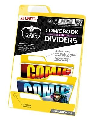 Ultimate Guard Premium Comic Book Dividers Yellow (25) Ultimate Guard