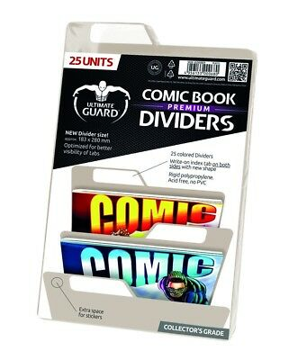 Ultimate Guard Premium Comic Book Dividers Sand (25) Ultimate Guard