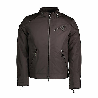 Giacca 127479 GUESS JEANS GIUBBOTTO UOMO MARRONE Coat Jacket