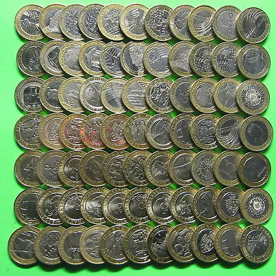 Various £2 Coins Olympics Commonwealth King James Bible Mary Rose Shakespeare