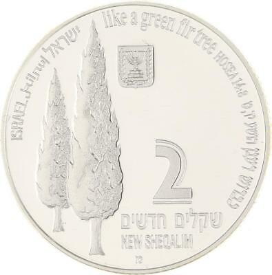 Israel - 2 New Sheqalim 1998 - Silber - Storch - PP Proof