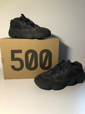 82f9b34b2a876 ADIDAS YEEZY 500 Utility Black Us 5.5 Uk 5 38 2018 Genuine Boost ...