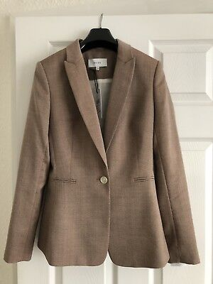 Reiss Turner 3-Piece Skirt Trouser and Blazer Suit Size 8 NEW