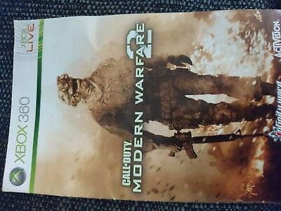 Xbox 360 ( Manual Only) Modern Warfare 2 ( Replacement Manual Only -No Disc)