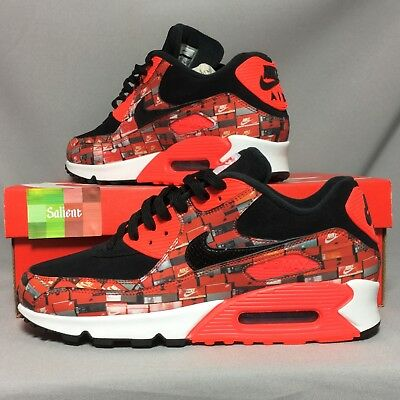 Nike AIR MAX 90 PRNT 'WE Love AQ0926 001: Amazon.co.uk