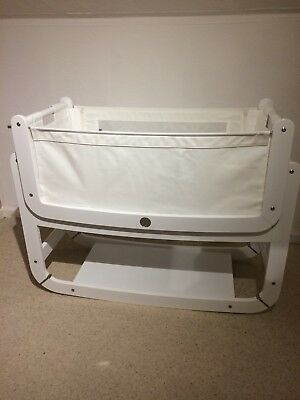 snuzpod 2 3in1 Crib With Mattress And Waterproof Protector
