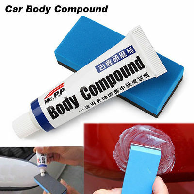 Car Strong Polishing Body Compound Wax Paint Care Scratching Sponge Repair Kit