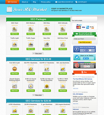 Turnkey SEO Reselling Business Script, Autopilot, Outsourcing Business
