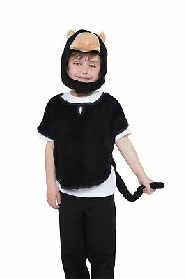 Kids Deluxe Dalmatian Tabard Costume Unisex Child Animal Fancy Dress Outfit