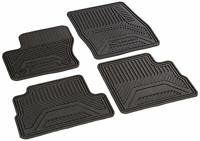Genuine Ford C Max Floor Mats All Weather Thermoplastic Rubber Black 4