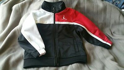 Michael Jordan 18m Red White Black Light  Jacket for Toddler Excellent