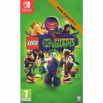 Lego DC Super Villains - Nintendo Switch [ITA]