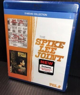 Summer of Sam Miracle At St Anna Blu-Ray Brand New Sealed Spike Lee Joint Vol 2