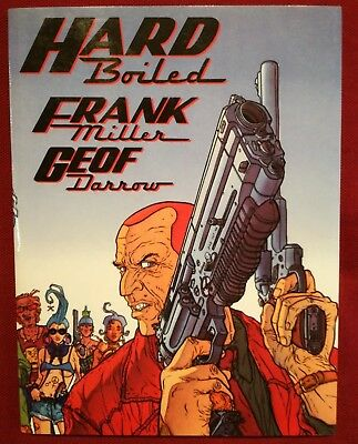 HARD BOILED di Frank Miller -  volume unico colori - Kabuki Publishing ESAURITO