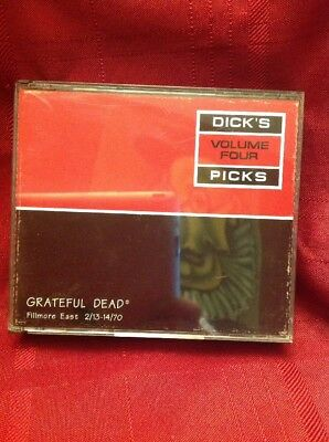 Dick's Picks Volume Four Fillmore East Grateful Dead 2/13- 14/70 3xCD Set Clean!