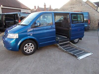 Wheelchair Accessible Wav Disabled Mobility 2009 Volkswagen Caravelle Se Auto