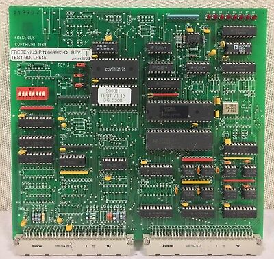 Fresenius LP545 Test Board 669983-Q for 2008H & 2008K Dialysis Machines