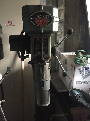used floor standing pillar drill