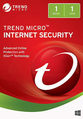 Trend Micro Internet Security 2019 - 1 Year / 1 PC