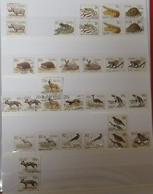 Stamps South Africa 1993 Endangered Fauna part set USED