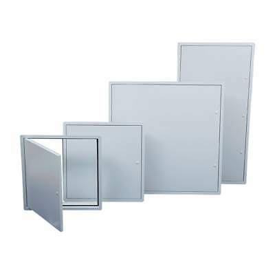 Plastic Access Panels Inspection Hatch Access Door White High Impact Polystyrene