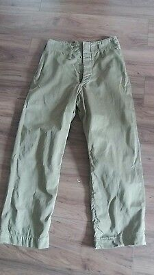 SADF - South African Army pants 1950's to 1970's Very Scarce!!!!