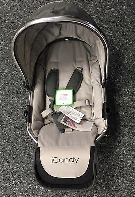 New With Tags Icandy Peach Converter Seat Upper/main Unit Seat Grey